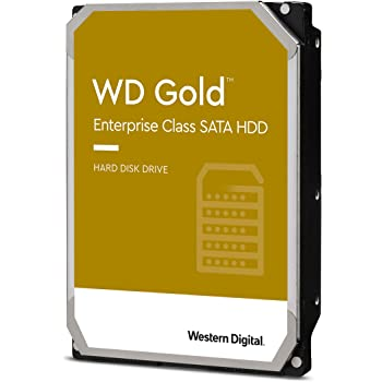 "Western Digital 2TB WD Gold Enterprise Class Internal Hard Drive - 7200 RPM Class, SATA 6 Gb/s, 128 MB Cache, 3.5"" - WD2005FBYZ"