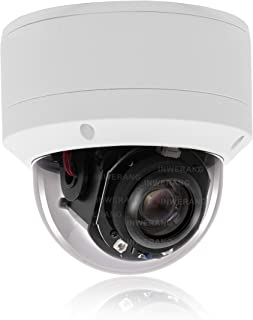 Security 5.0MP H.265 POE IP PTZ Camera,Hikvision Compatible, 5X 2.7-13.5mm AF Lens, Inwerang IP66 Waterproof Outdoor/Indoor Vandalproof Network Dome Camera, Audio in, 98ft Night Vision, Onvif