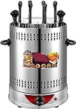 AJH Horno eléctrico sin Humo Giratorio automático y Respetuoso con el Medio Ambiente, máquina de brocheta de sincronización de Barbacoa Adecuada para el hogar