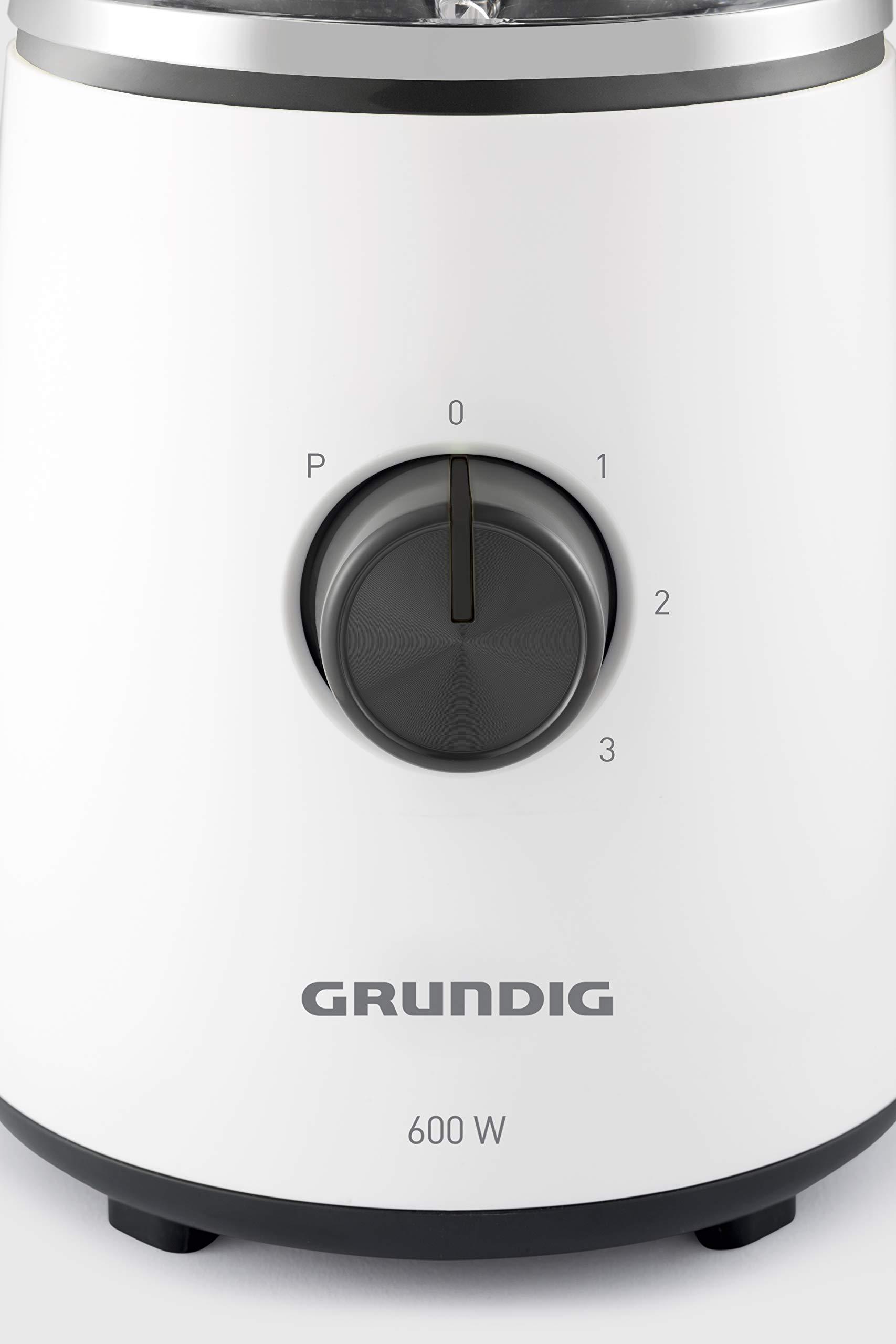 Grundig SM 6860 - Licuadora (1,5 L, 1,5 L, 22000 RPM, Batidora de ...
