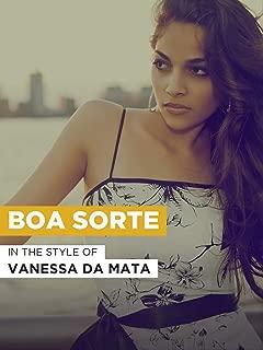 Best vanessa mata boa sorte Reviews
