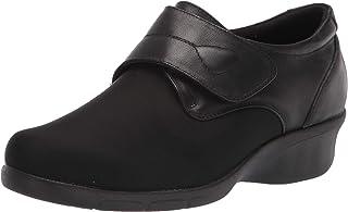 Propet Women's Wilma Oxford Flat, Black, 7 Wide