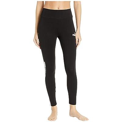 PUMA Tape Leggings (Cotton Black) Women
