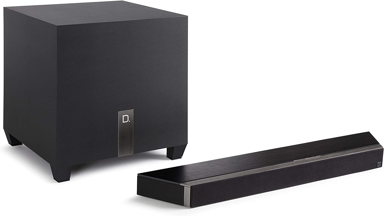 Definitive Technology Studio 3D Mini Sound Bar with 6 Speakers and an 8