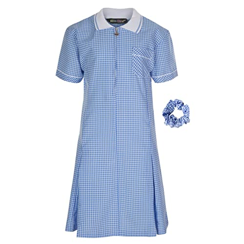 c91b490ca Miss Chief Girl's School Gingham Summer Dress Age 3 4 5 6 7 8 9 10