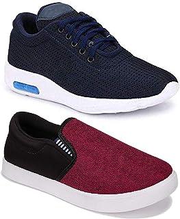 Axter Men's Multicolour Combo-(2)-11067-9125 Running Shoe