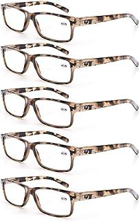 MODFANS Leesbril Mannen Vrouwen 3 Paar Lezers Comfort Lente Scharnier Vintage Stijlvolle Kwaliteit Brillen voor Lezen met ...