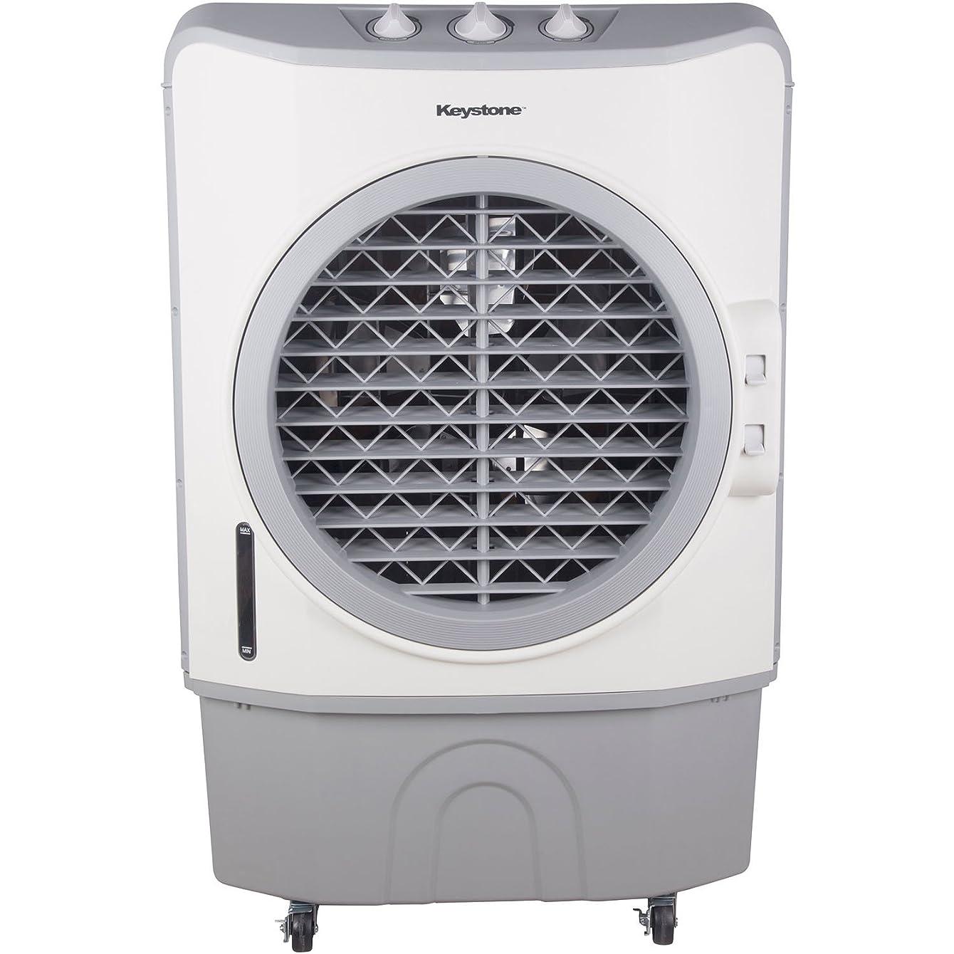 40-Liter Indoor/Outdoor Evaporative Air Cooler (Swamp Cooler) in Dark Gray