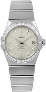 Constellation Automatic Chronometer Diamond Ladies Watch 123.15.35.20.02.001
