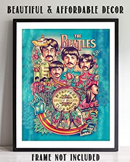 The Beatles- Music Poster Print
