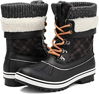 ALEADER Women's Fashion Waterproof Winter Snow Boots