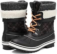 ALEADER Women's Fashion Waterproof Winter Snow Boots