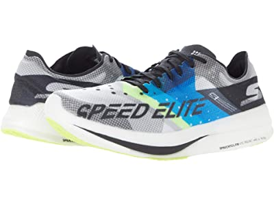 SKECHERS Go Run Speed Elite (Black/Blue) Men