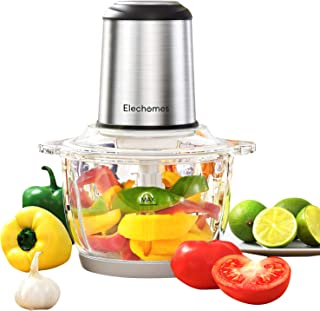 Electric Food Processor & Vegetable Chopper, Elechomes High Capacity 8-Cup..