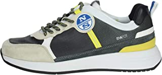 NORTH SAILS Scarpe Sneaker MOD. Wave 018 Grigio Lime US20NS06