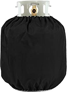 UNICOOK Heavy Duty Propane Tank Cover - Dress up Your Gas Grill - Special Fade and UV Resistant Fabric- Durable and Convenient, Fits Standard 20lb Tank Cylinder