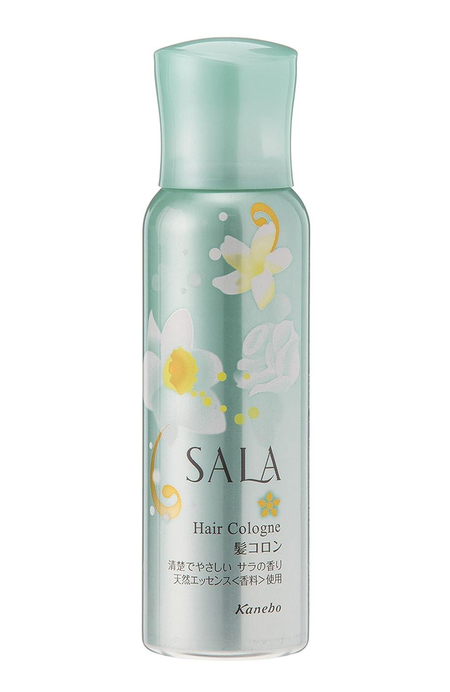 日常的に足に話すサラ 髪コロン サラの香り 80g