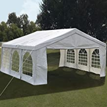 Quictent 13'x20' Party Tent Heavy Duty Gazebo Outdoor Wedding Tent Canopy Carport Shelter with Carry Bag