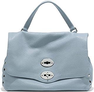 Luxury Fashion   Zanellato Womens 61201898 Light Blue Handbag   Spring Summer 20