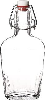 Bormioli Rocco Pocket Flask, 8.5 oz, Clear