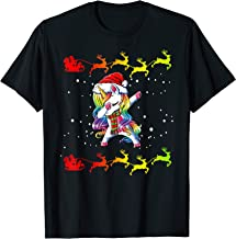 Dabbing Unicorn Christmas - Christmas Is Coming  T-Shirt