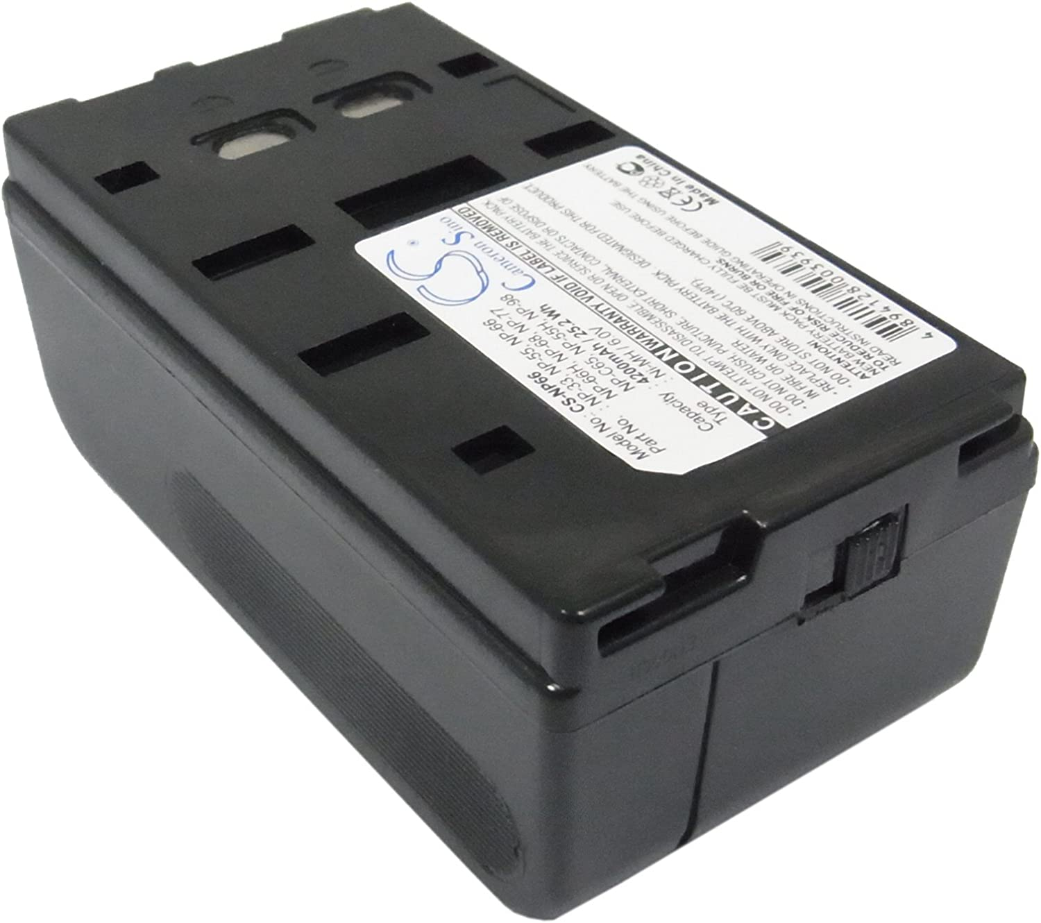 Cameron Sino Rechargeble Battery 4200mAh Sony for CCD-F500E Super sale period limited San Jose Mall