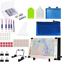Mlife Diamond Painting A4 LED Light Pad Kit - Diamond Art Light Board with 32PCS 5D Painting Tools, Apply to Full Drill & ...