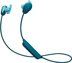 Sony SP600N Wireless Noise Canceling Sports in-Ear Headphones, Blue (WI-SP600N/L)