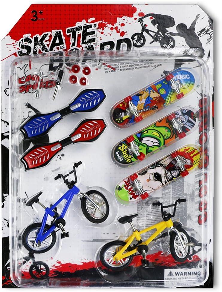 Oruuum Mini Finger Sports Skateboards/Bikes/Swing Boards, Mini F