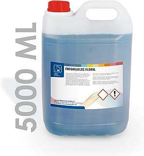 IQG Fregasuelos Concentrado 5L. Limpiador de Suelos perfumado para Todo Tipo de Suelos (terrazo, mármol, cerámica, parket, etc). (Floral)