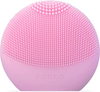 FOREO LUNA fofo Smart Facial Cleansing Brush and Skin Analyzer, Pearl Pink