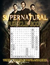 Supernatural Puzzle Book: A Book With Plenty Of Many Games About Supernatural For Relaxation And Stress Relief