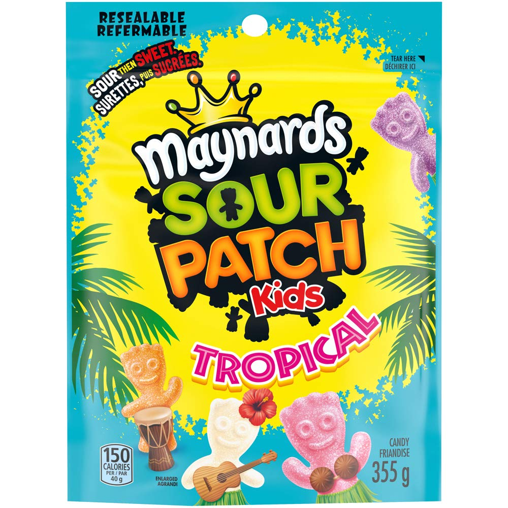 Maynards Sour Patch Kids Tropical 355g Dedication oz {Importe Candy 12.5 Louisville-Jefferson County Mall