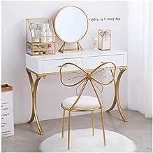 Large Classical Makeup Dressing Table, Vanity Set, Makeup Storage Set Space Saving Design Dressing Table for Bedroom, Bedr...