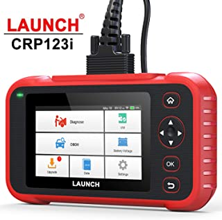 """LAUNCH Code Reader-CRP123i OBD2 Scanner Engine ABS SRS Transmission Scanner with Battery Test, 5"""" Touchscreen Wi-Fi Update, Auto VIN & Health Report Automotive Diagnostic Scan Tool - Latest Version"""