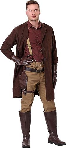 Firefly Malcolm Reynolds Plus Größe Men's Fancy Dress Costume 2X