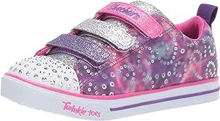 Skechers Kids' Sparkle Lite-Rainbow Brights Sneaker