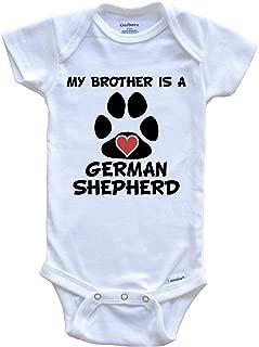 My Brother is A German Shepherd Baby Onesie