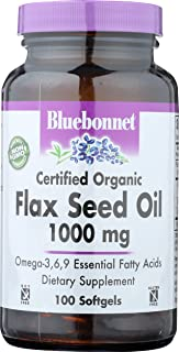 BlueBonnet Flaxseed Oil Softgels, 1000 mg, 100 Count