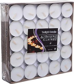 شموع مكونة من 100 قطعة من تي لايت - باللون الابيض- موديل 2724442095810