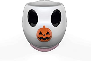 Zak Designs Disney's The Nightmare Before Christmas Unique Color Changing Ceramic Coffee Mug with Spoon, Collectible Keepsake and Wonderful Coffee Mug (11 oz, Zero, BPA-Free)