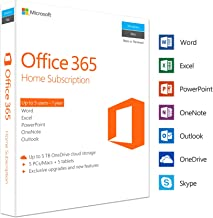 Microsoft Office 365 Home 5 PC/Mac, Multi device 1 Year