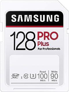 Samsung PRO Plus 128GB SDXC UHS-I U3 100MB/s Full HD & 4K UHD geheugenkaart (MB-SD128H/EU)
