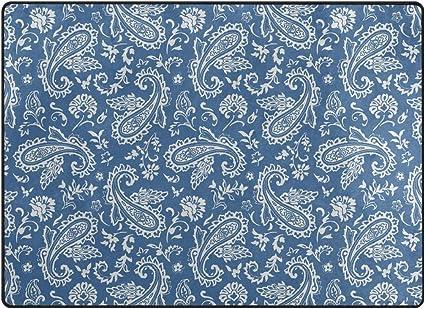 Sihan 100 x 40 cm, antideslizante, larga y con ventosa color azul Alfombrilla para ba/ñera