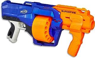 Nerf Elite - Surgefire Blaster inc 15 Official Darts & Drum - Kids Toys & Outdoor Games - Ages 8+