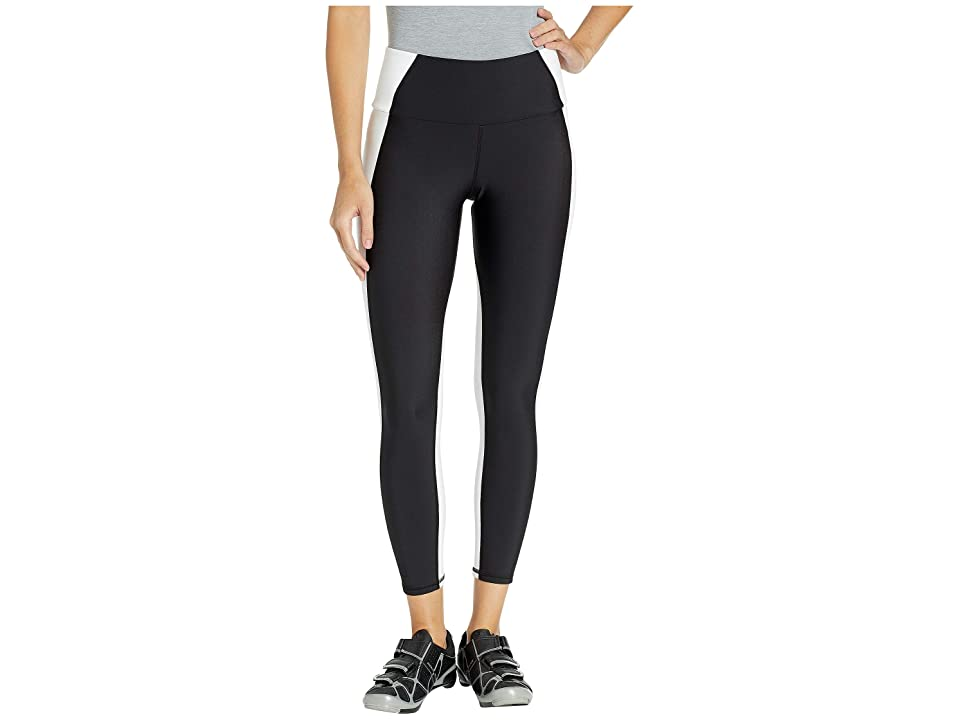 MICHI Vibe High-Waisted Leggings (Black/White) Women