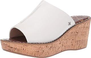 4d27dcae9 Amazon.com  White - Slides   Sandals  Clothing