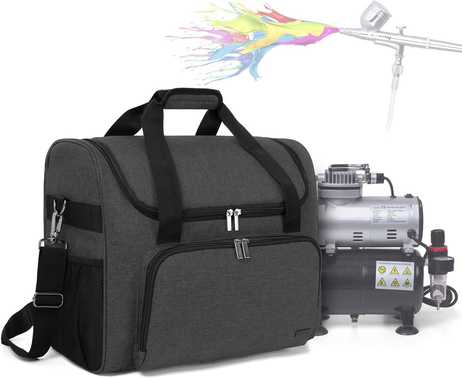 Teamoy Airbrushing Paint System for Organizer Bag 5 ☆ very popular Carrying New popularity