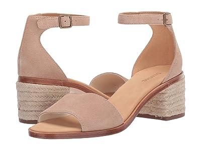 Soludos Capri Suede Heel (Blush) Women