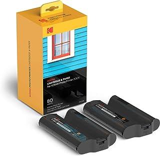 KODAK Dock Plus & Dock Photo Printer Cartridge PHC-80 – Cartridge Refill & Photo Paper- 80 Pack